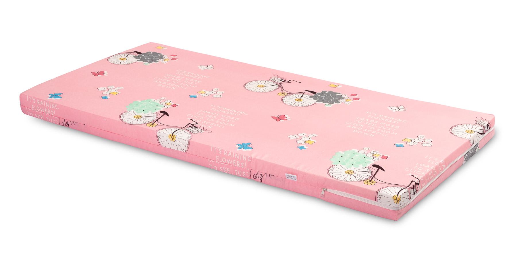 Wkład do łóżeczka- różowy rowery