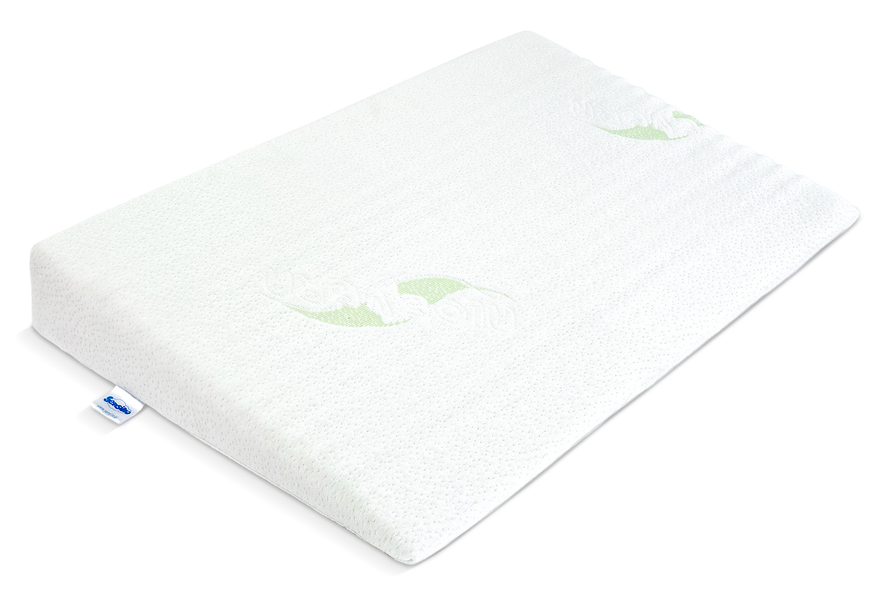 Luxe Aloe Vera Cot Wedge Pillow – 38×60
