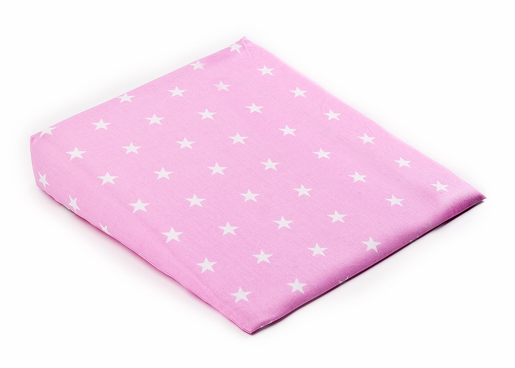 38×30 Wedge Pillowcases – stars pink