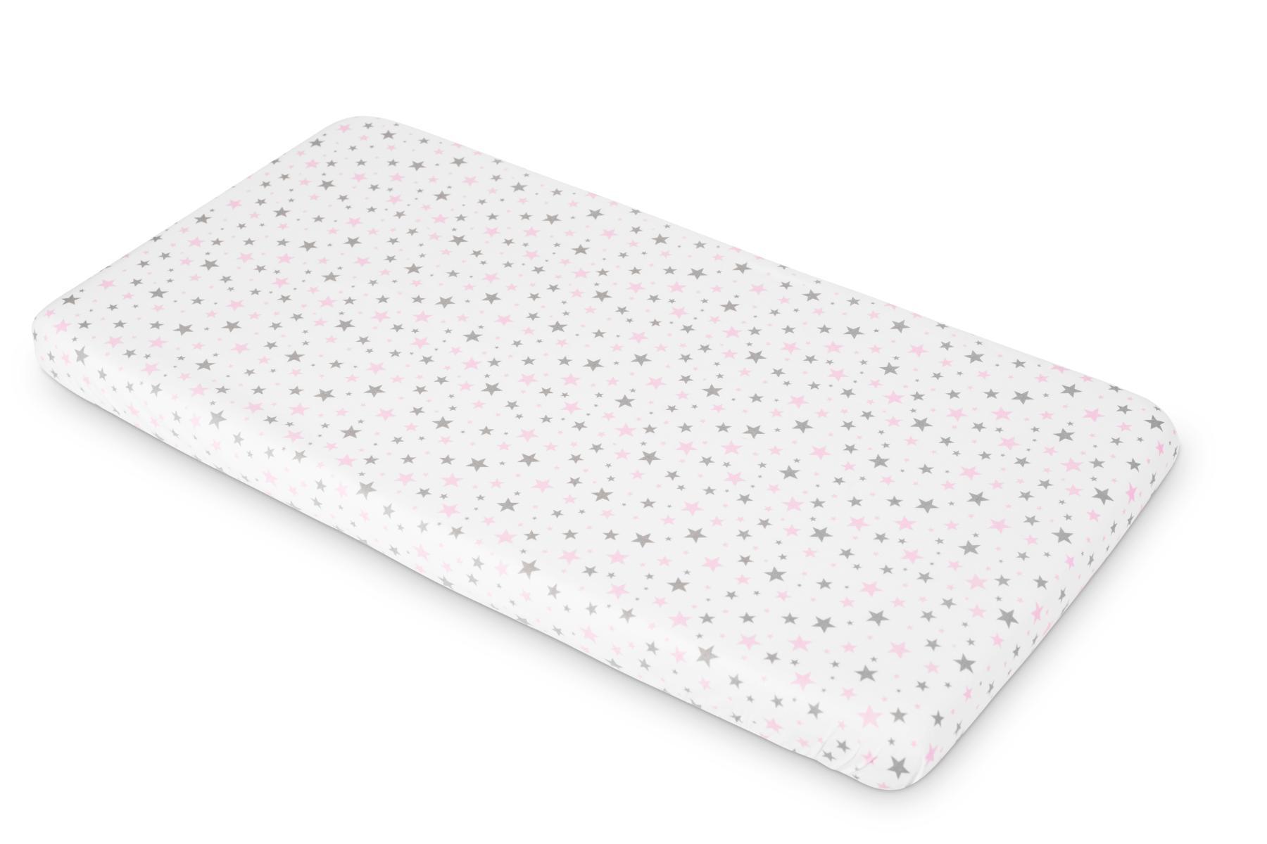 Printed Sheet – stars pink