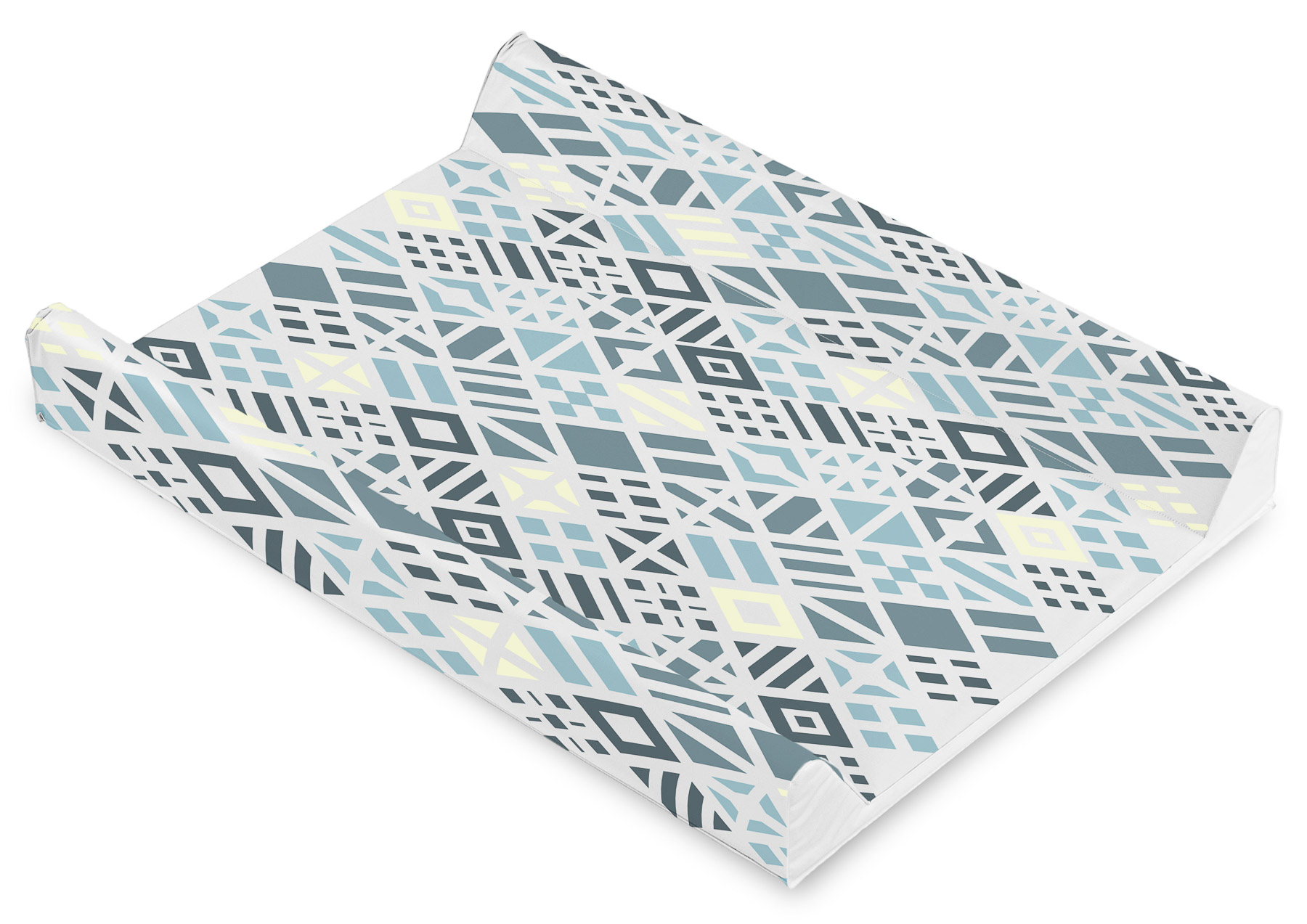 Patterns Changing Pad – diamonds platinium