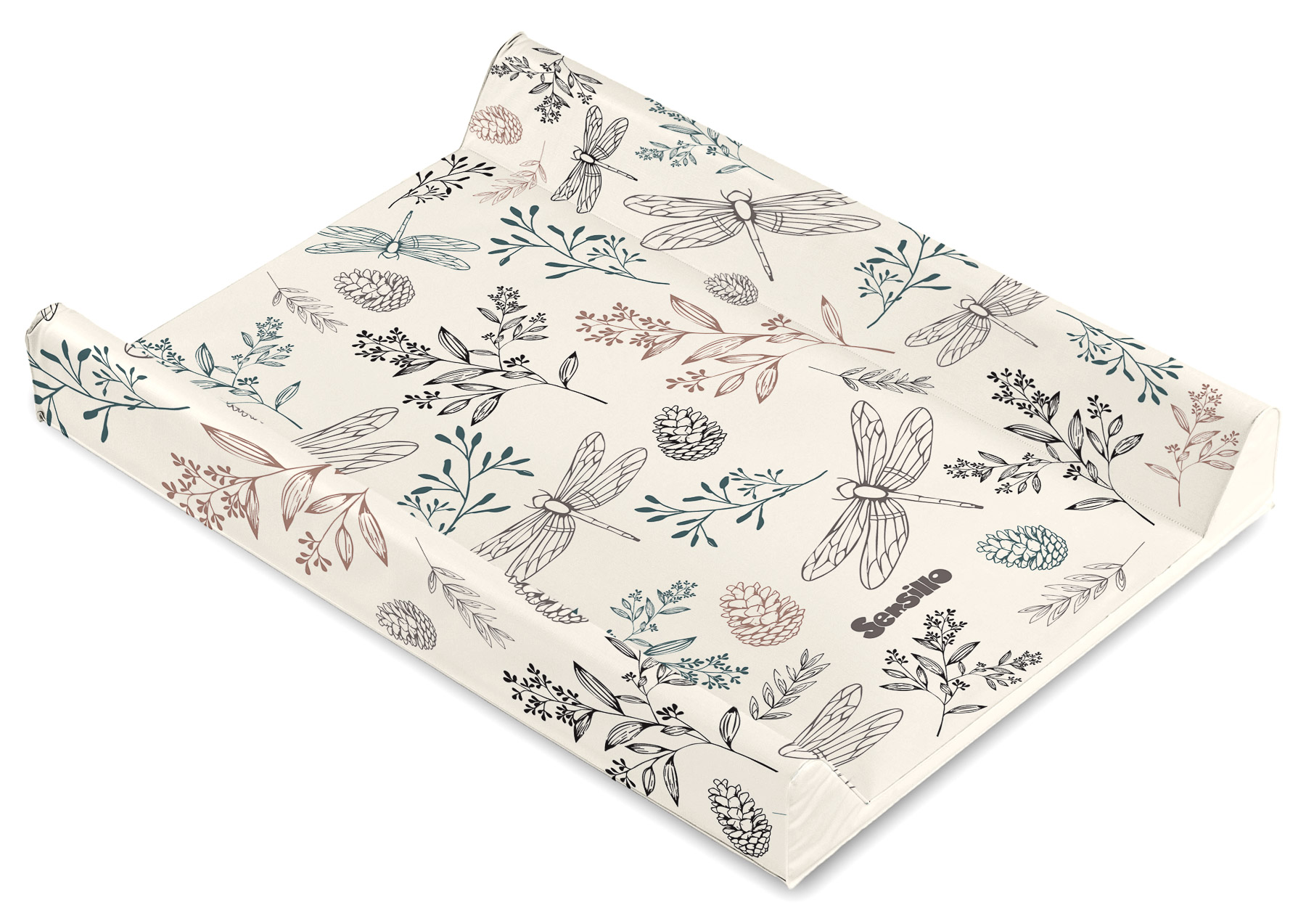Botanical Changing Pad – beige