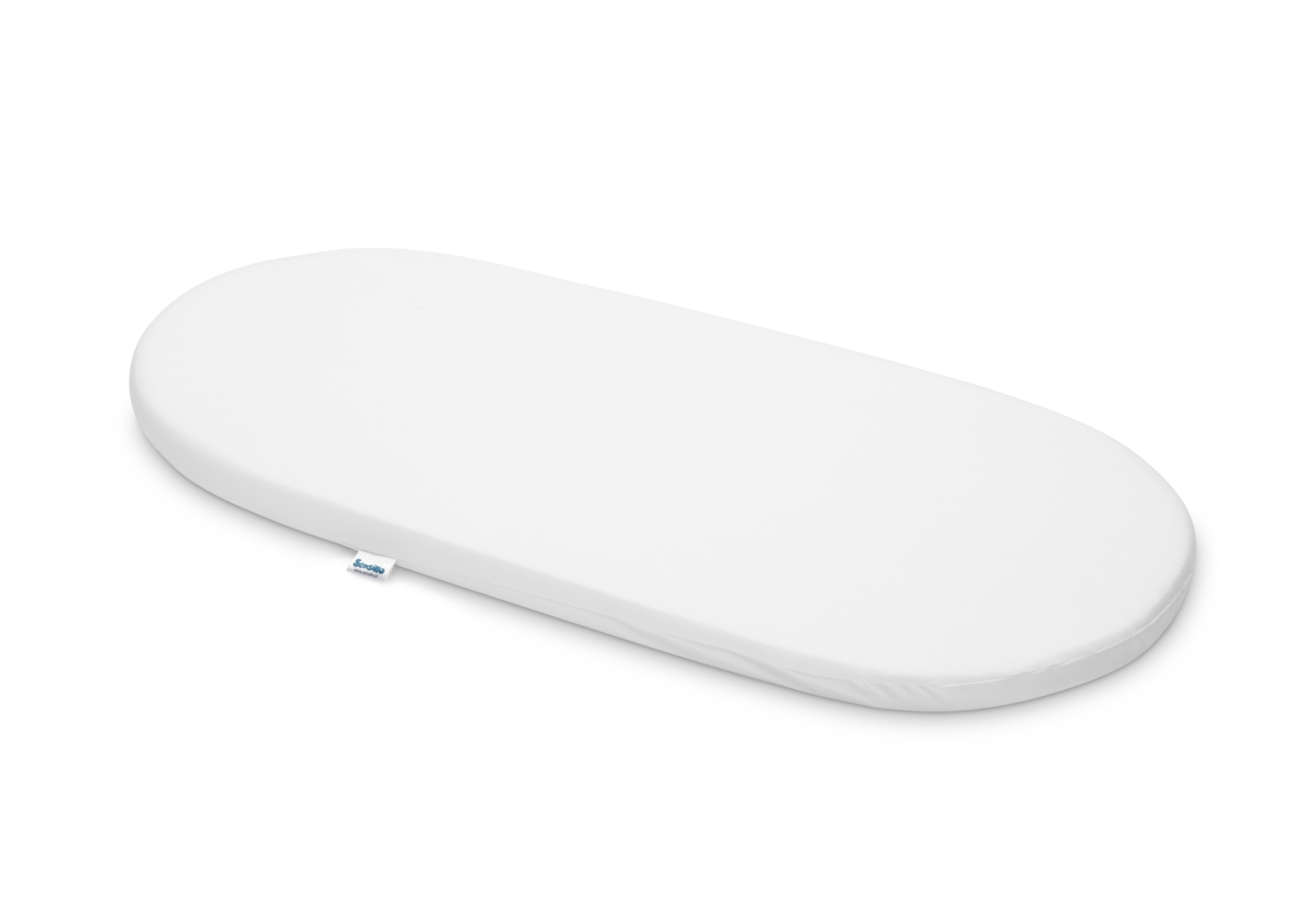 Classic 75×35 cm Pushchair Mattress – white