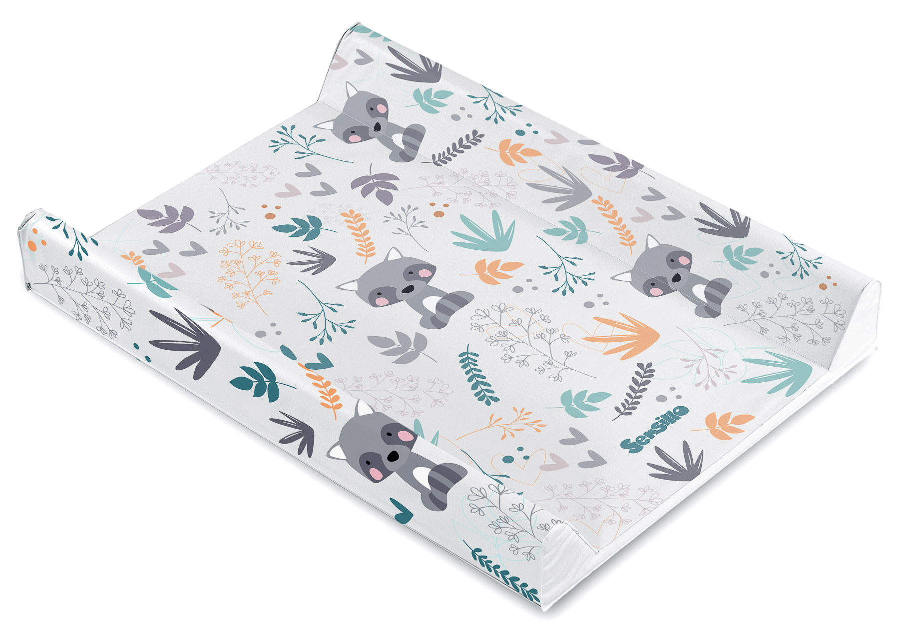 Forest Changing Pad – raccoon platinum