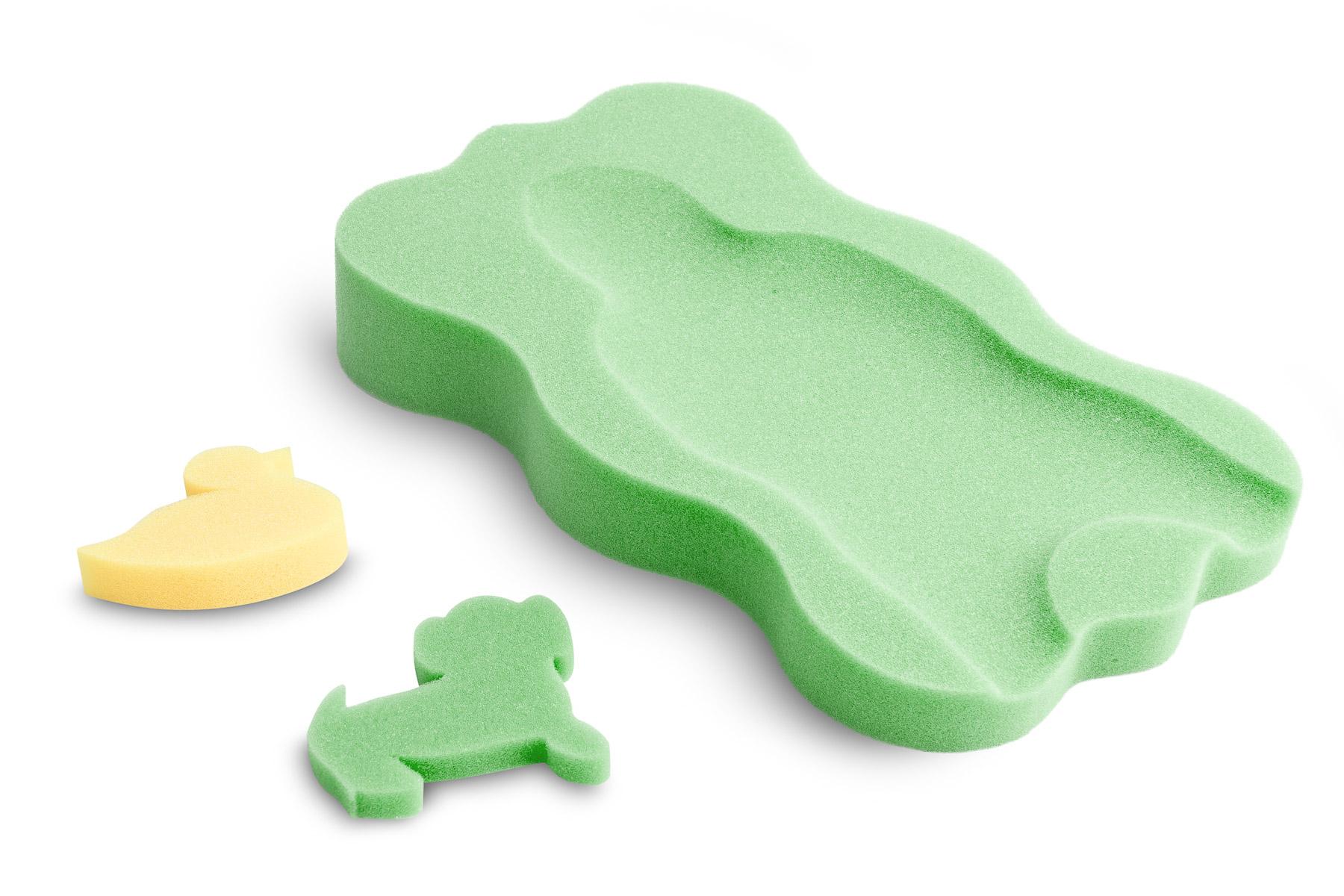 Bath insert for infants midi – green