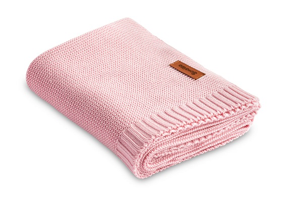 Bamboo and cotton blanket – pink