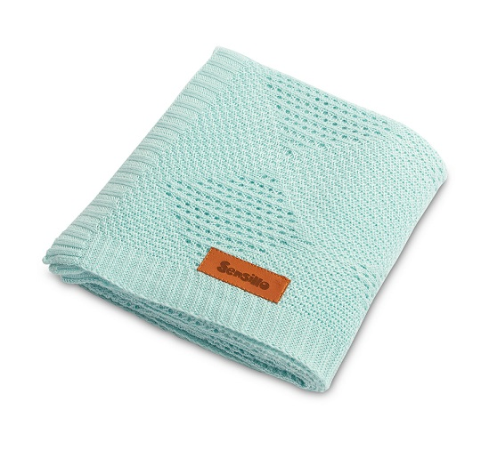 Bamboo blanket – mint