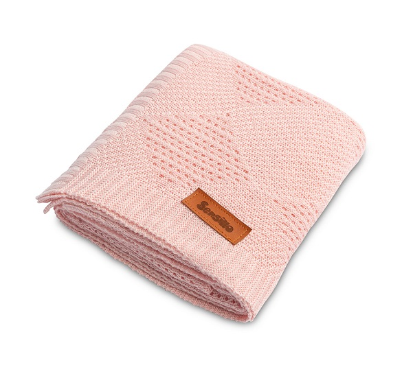 Bamboo blanket – pink