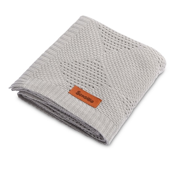 Bamboo blanket – grey