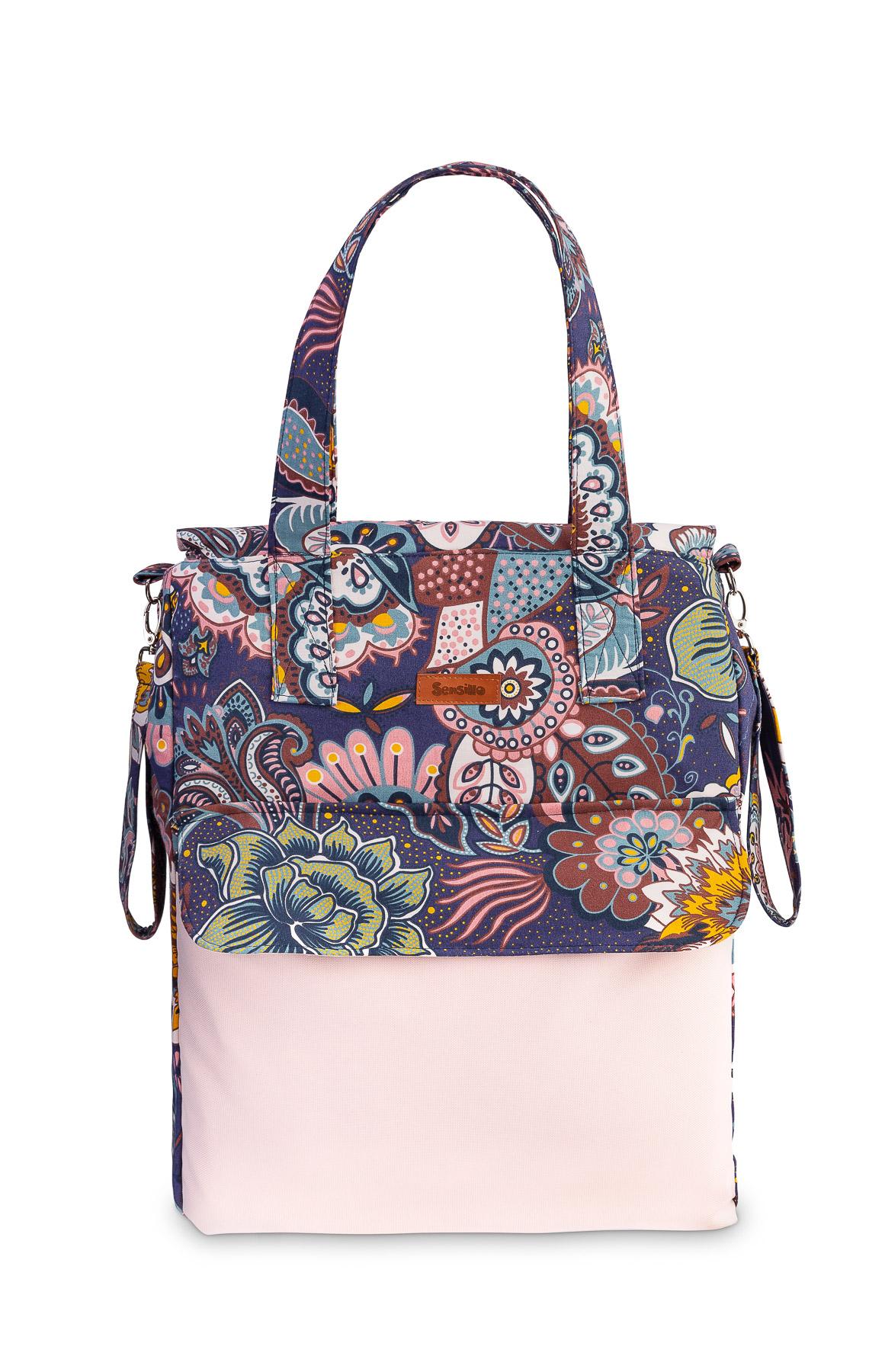 Torba Mama Bag – boho brudny róż