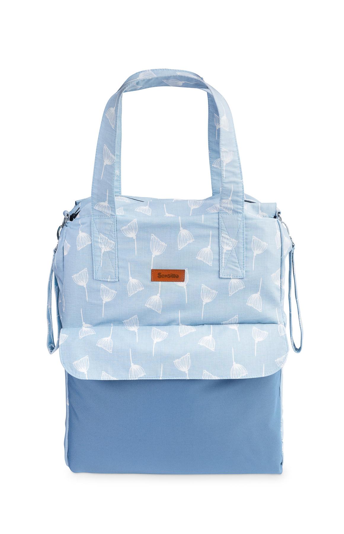 Torba Mama Bag – dmuchawce niebieskie