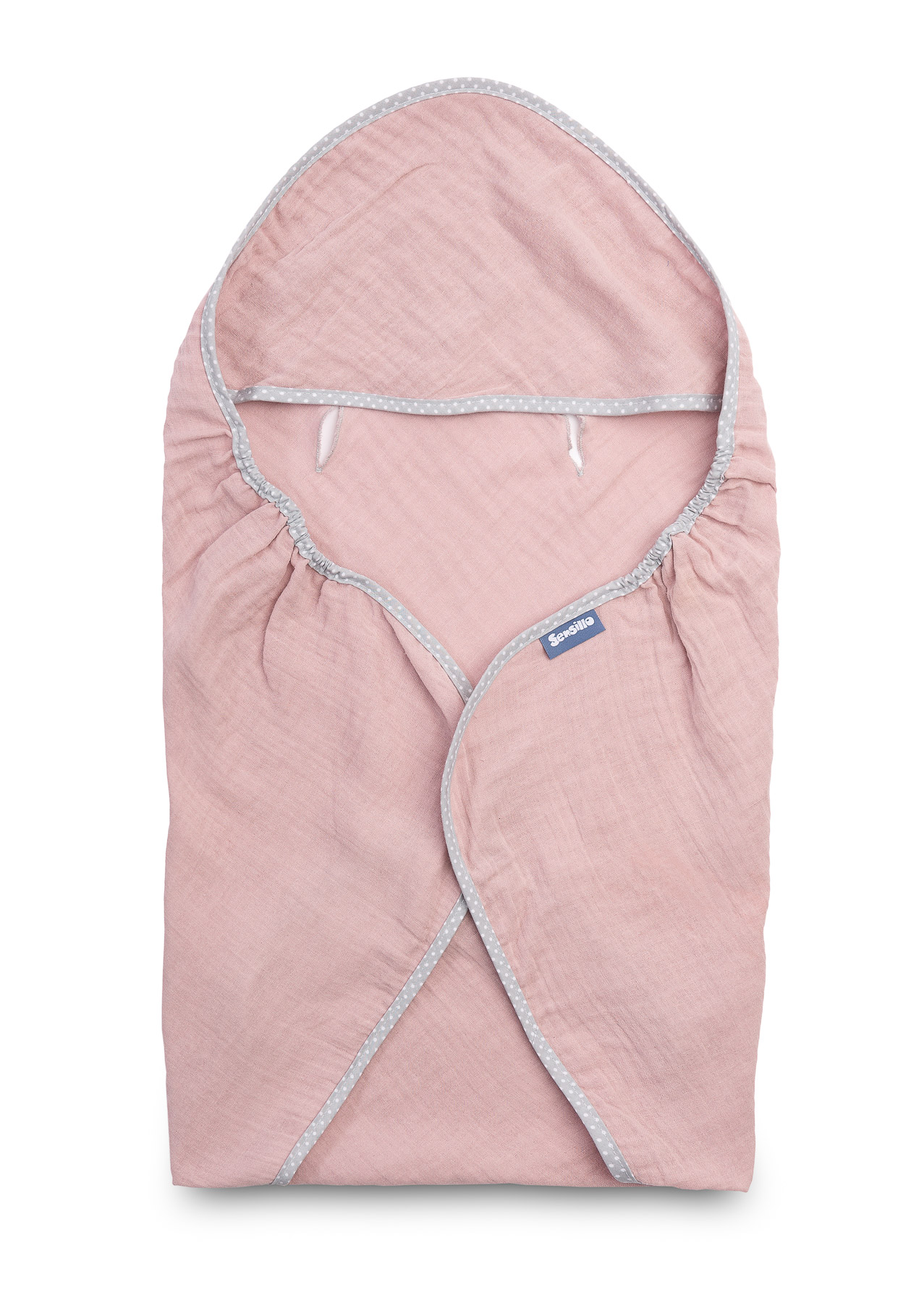 Child seat muslin swaddle blanket for summer – pink