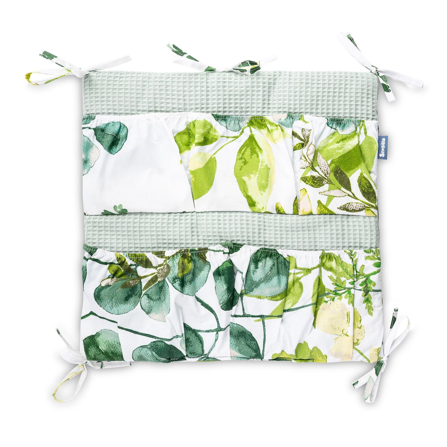 Organizer do łóżeczka – eukaliptus miętowy