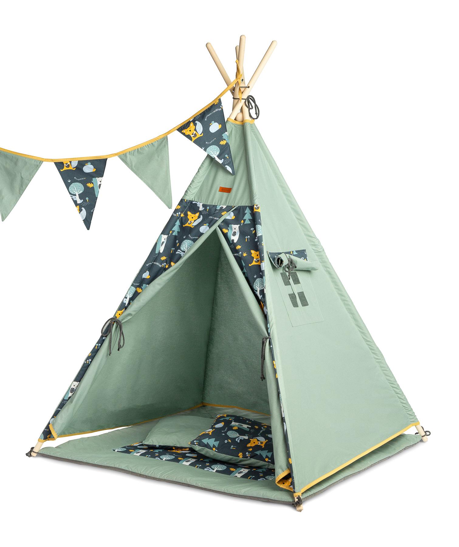 Namiot Tipi – polana zielony