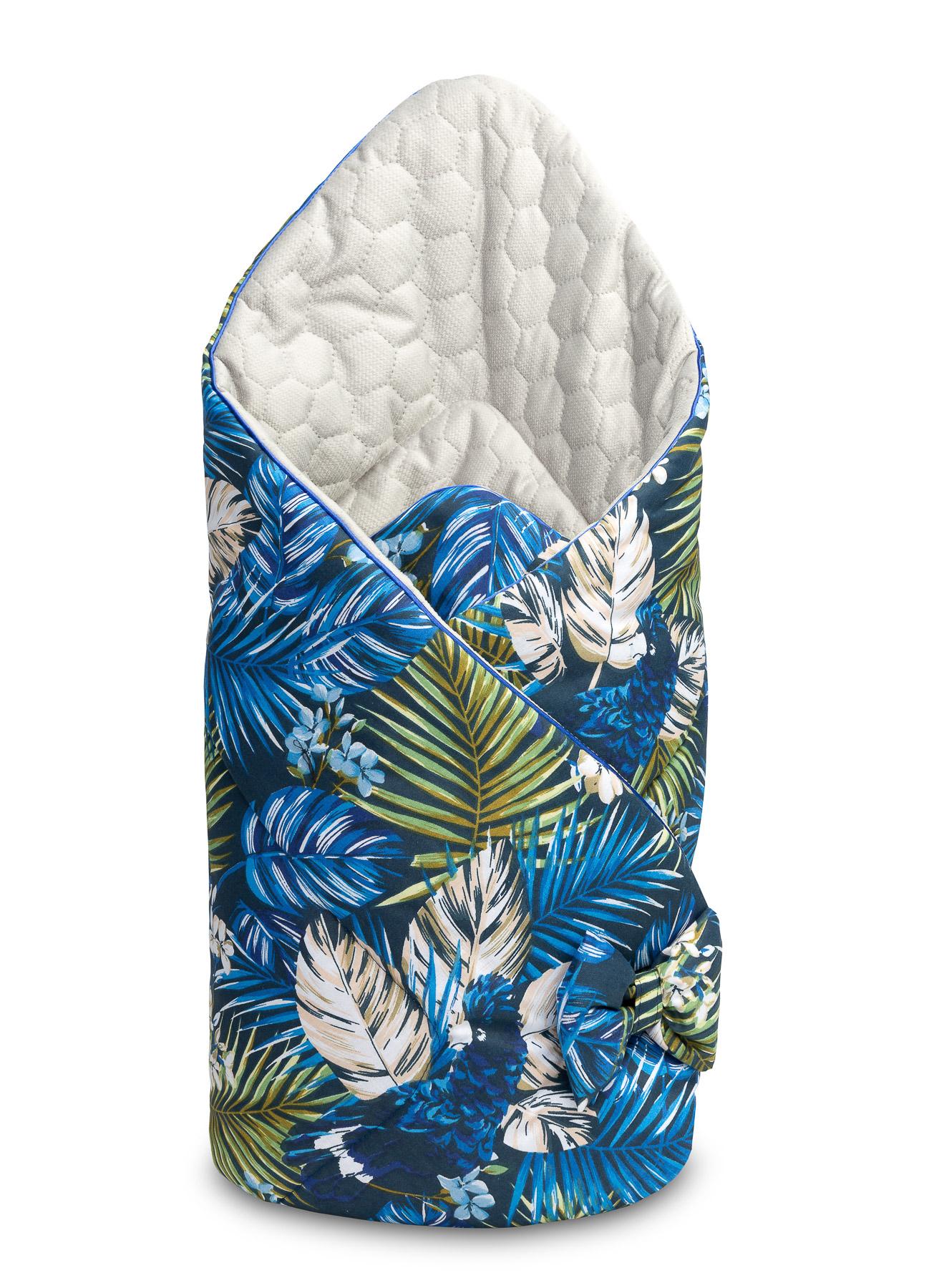 Rożek Velvet – Niebieski papugi