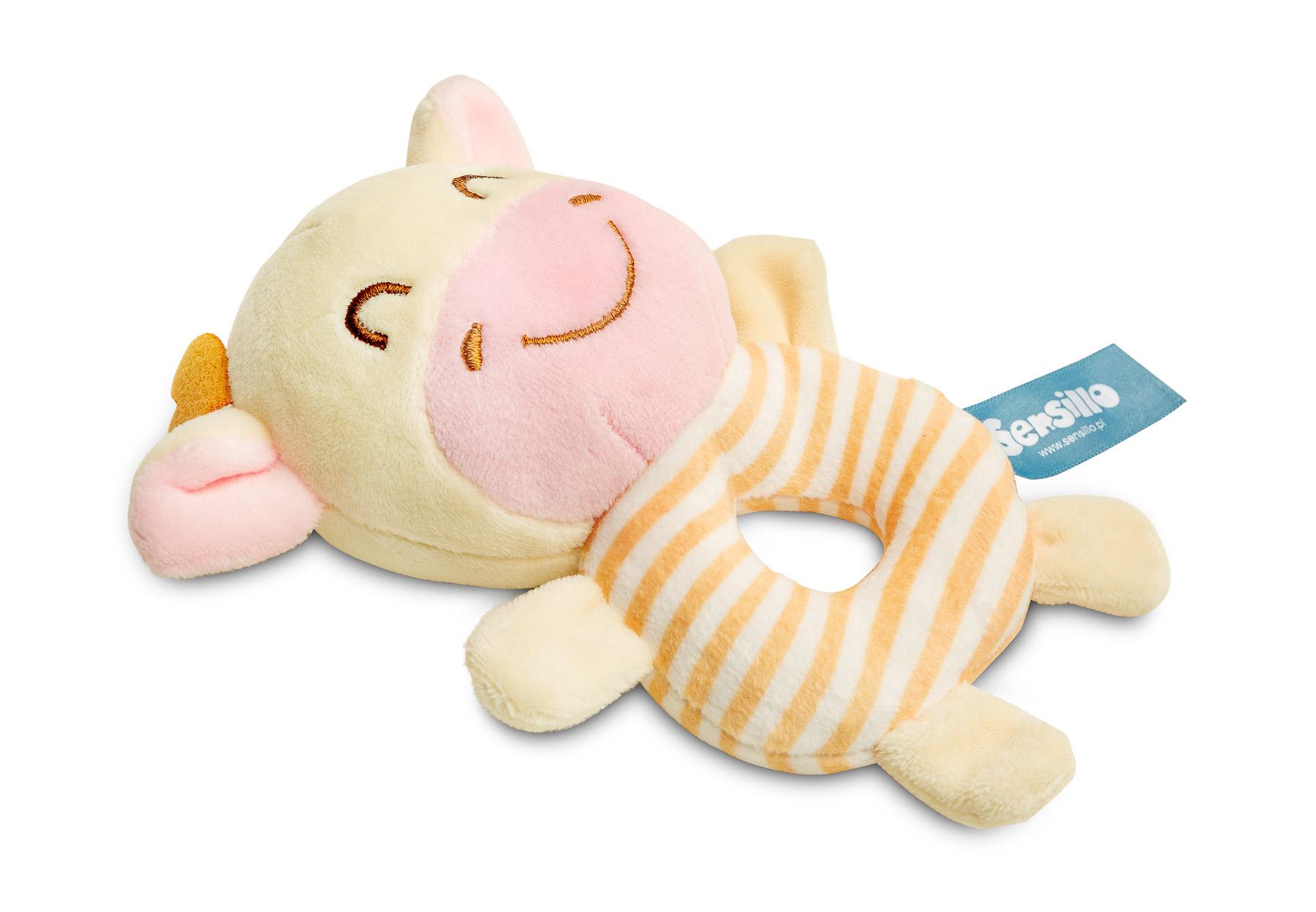 Mini Zoo rattle toy – cow