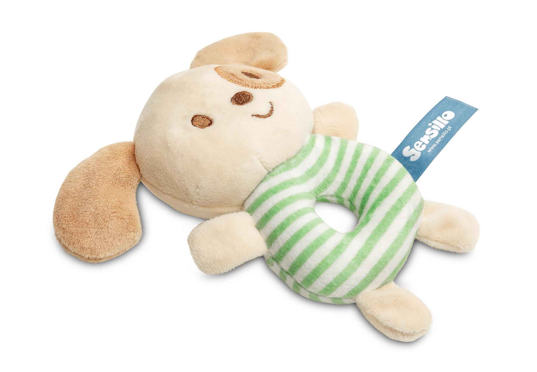 Mini Zoo rattle toy – dog