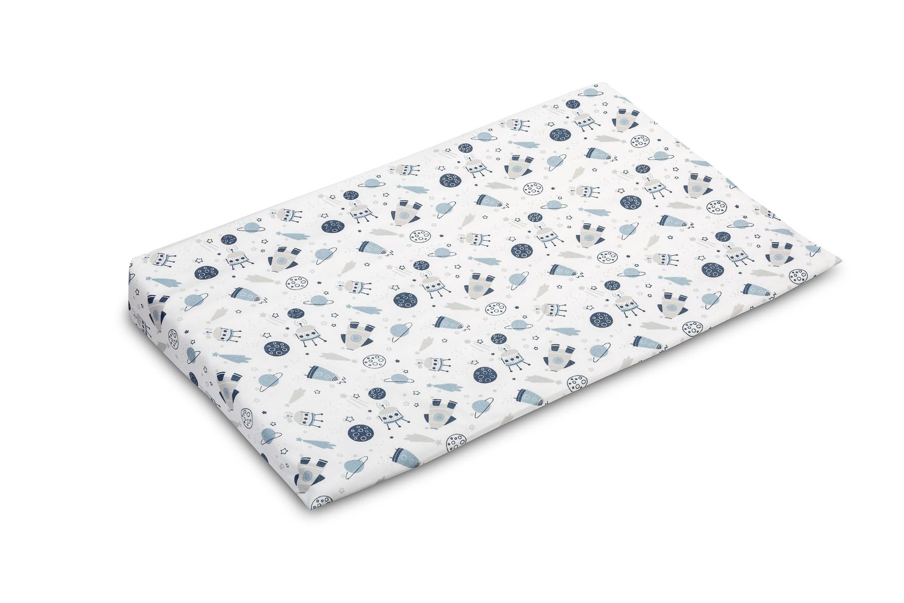 38×60 Wedge Pillowcase –  cosmos