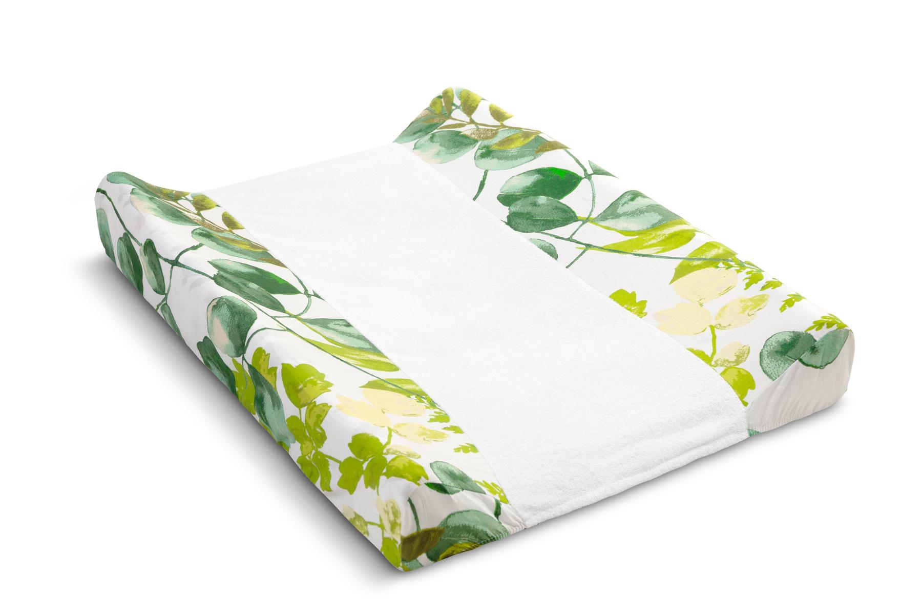 Sheet for changing pad – eucalyptus