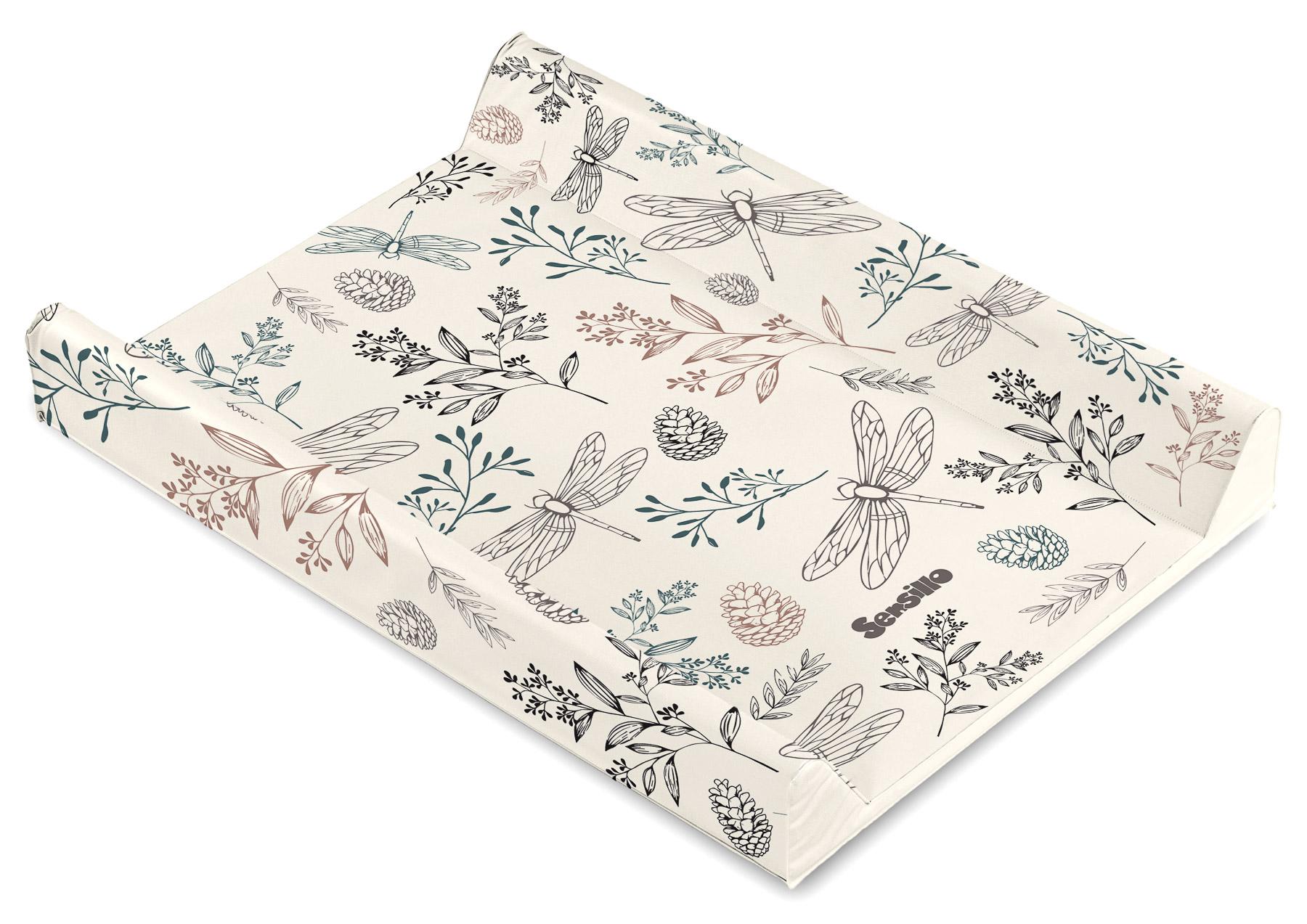 Soft changing pad – Botanical beige
