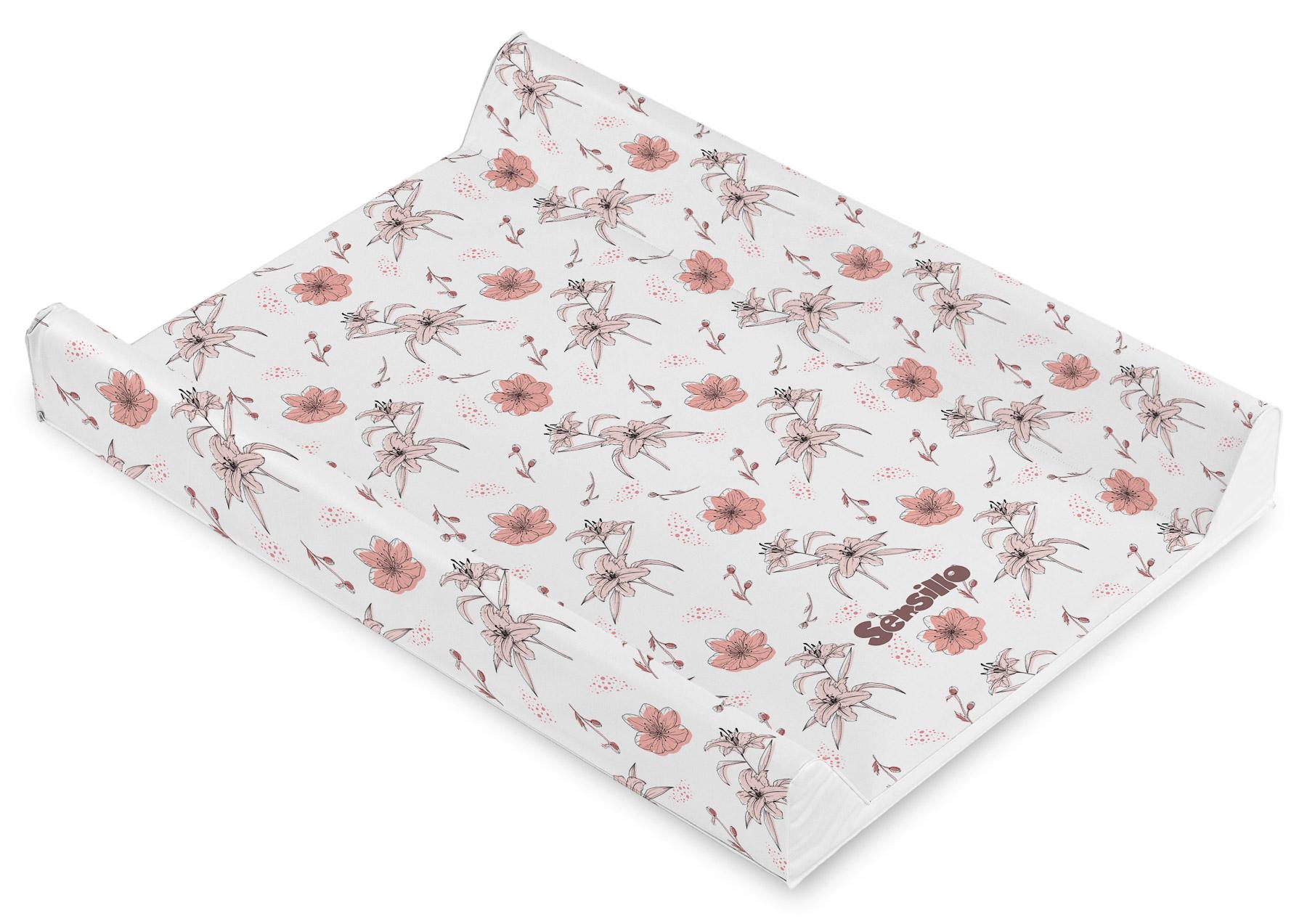 Soft changing pad – Flowers Lilis