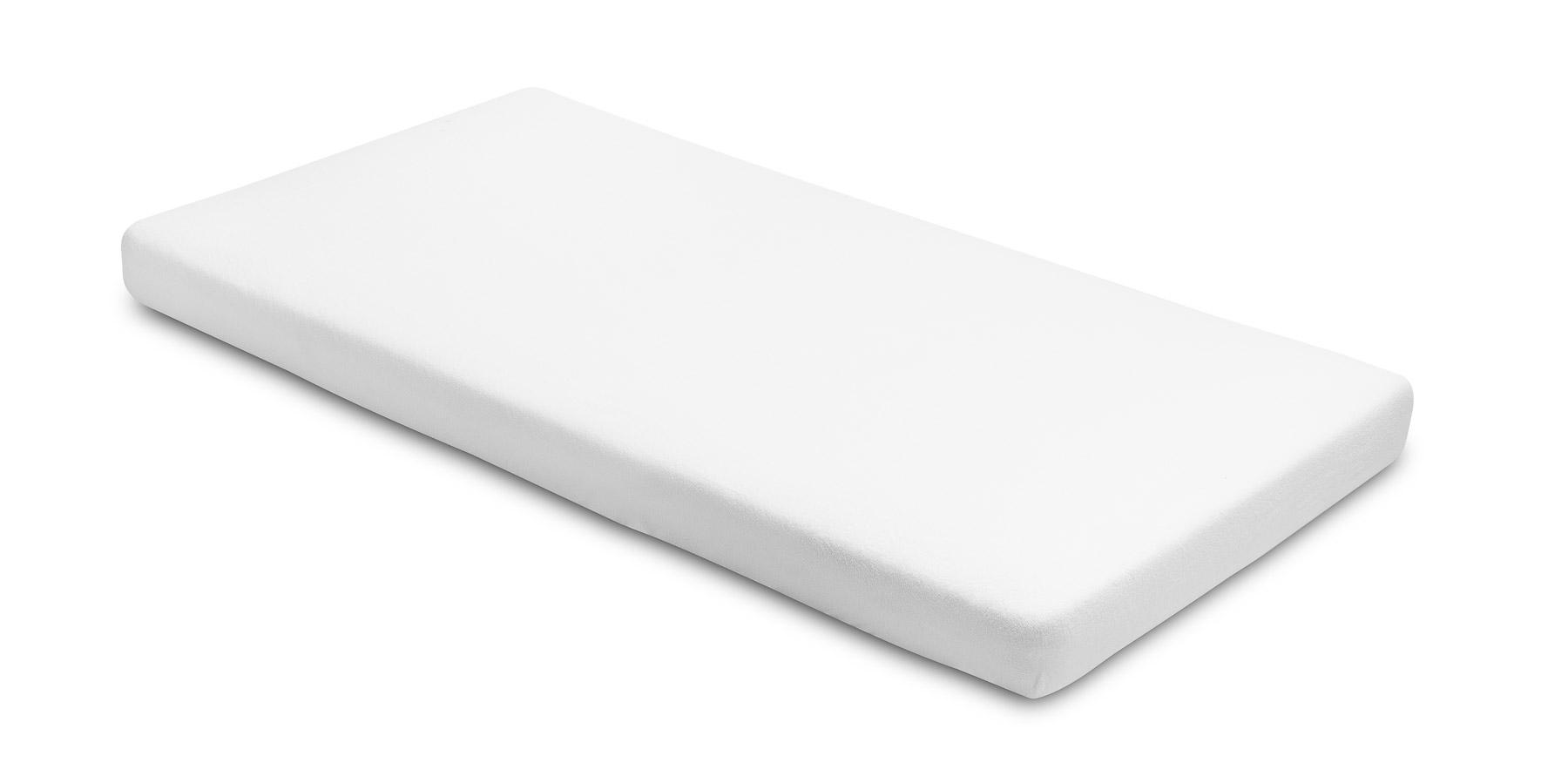 Prześcieradło frotte z gumką 140×70 cm – biały